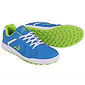 Woodworm Surge V2.0 Casual Spikeless Street Golf Shoes - Blue & White