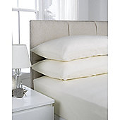 Hamilton McBride Pair of Housewife Pillowcases - Ivory