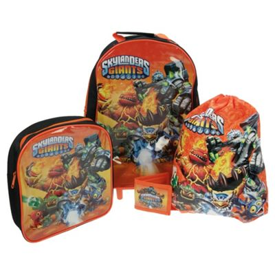 Skylanders 4-Piece Kids' Luggage Set