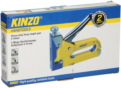 Kinzo Staple Gun 3 Way 4-14mm