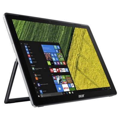Acer Switch SW312-31 12 inch Windows 10 Pentium 2 in 1 Laptop Tablet 4GB RAM 64GB HDD - Black
