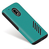 Orzly Grip-Pro Case for Moto G4 /G4 Plus - BLUE