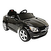 Kids Electric Car Mercedes Benz SLK 6 Volt Black Gloss