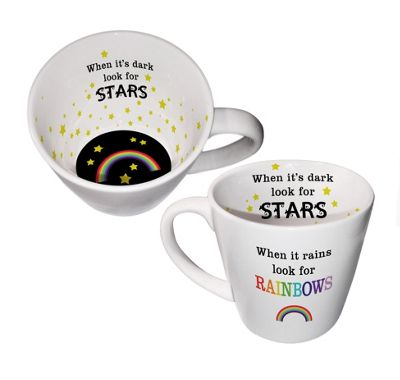 Inside Out Mug, Look for Rainbows