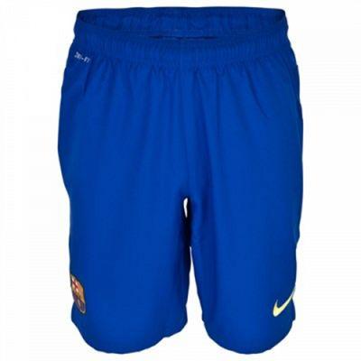 2013-14 Barcelona Away Nike Goalkeeper Shorts (Blue)