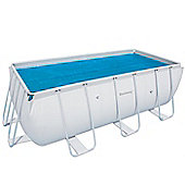 "Solar Pool Cover- 148"" x 69"" Rectangular"