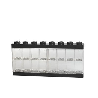 Lego Large Minifigure Display Case - Black Top