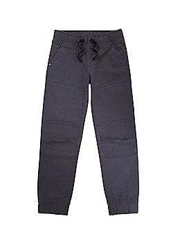 F&F Cuffed Jogger Trousers - Slate grey