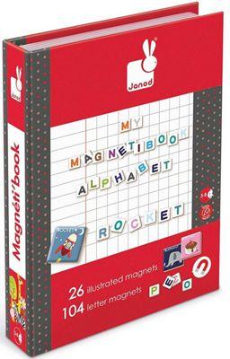 Janod My Magnetibook Alphabet Activity Toy