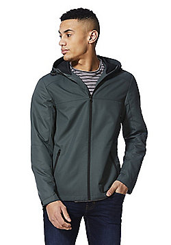 F&F Hooded Ripstop Jacket - Green