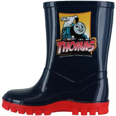 Thomas the Tank Engine Navy Blue Childrens Wellies UK 4 Infant