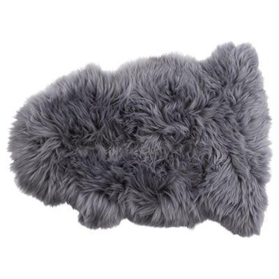 Genuine Sheepskin Single, Grey