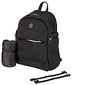 OiOi Backpack Nappy Change Bag - Black Neoprene (7007)