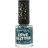 Rimmel Love Glitter Nail Polish 8ml - 034 A Crush On You