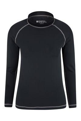 Mountain Warehouse Womens Long Sleeve Rash Vest ( Size: 14 )