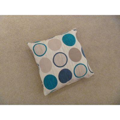 Mason Gray Cortez Teal Cushion Cover - 43x43cm