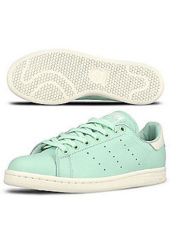 adidas Originals Mens Stan Smith Frozen Green Leather Trainers - Green
