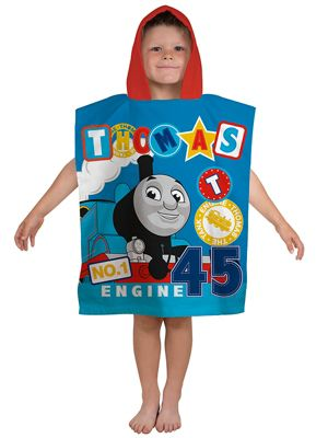 Thomas & Friends Patch Hooded Poncho Towel