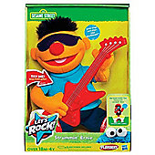 Sesame Street Let's Rock 'Strummin' Ernie' 10 Inch ' Soft Toys