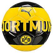 Puma Dortmund Fan Football Soccer Ball Yellow/Black