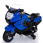 BMW Style Kids Motorcycle 12V Style Ride On Blue