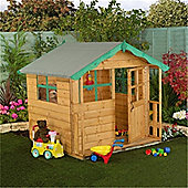 5 x 5 Sutton Wooden Playhouse (5ft x 7ft) - Fast Delivery - Pick A Day