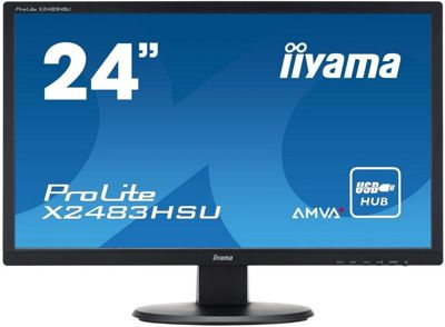 iiyama PROLITE X2483HSU-B2 24 Full HD AMVA Monitor