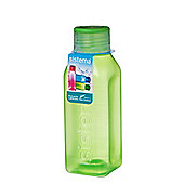 Sistema Hydrate 475ml Square Drink Bottle, Lime Green