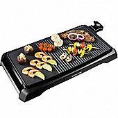 Andrew James Electric Teppanyaki Table Top Grill and Griddle in black