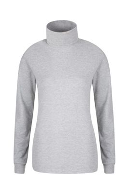 Mountain Warehouse MERIBEL WOMENS COTTON ROLL NECK