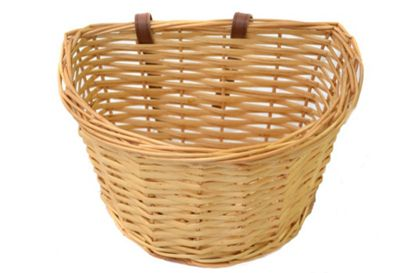 Vintage Kids Wicker Front Bike Traditional Heritage Basket & Straps Small 11
