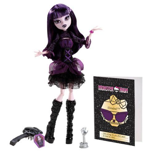 Monster High - Black Carpet Fright - Elissabat Doll
