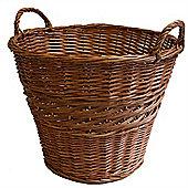 Classic Log Basket - Buff