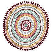 Tesco Circular Tile Cushion