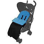 Footmuff For Buggy Pushchair Turquoise