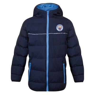 Manchester City FC Boys Quilted Jacket 2-3 Years