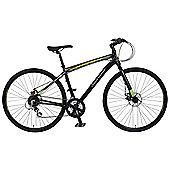 "Claud Butler Urban 400 22"" Hybrid Bike 700c Alloy Frame Disc Brakes"