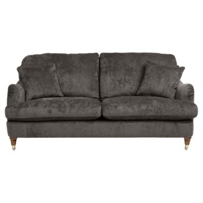 buy florence 2 seater fabric sofa pewter from our fabric sofas