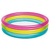 "Intex Inflatable Rainbow Baby Paddling Pool 34"" x 10"""