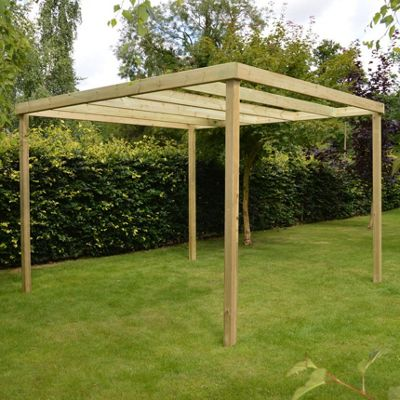 Garden Box Pergola 4.2m x 4.2m