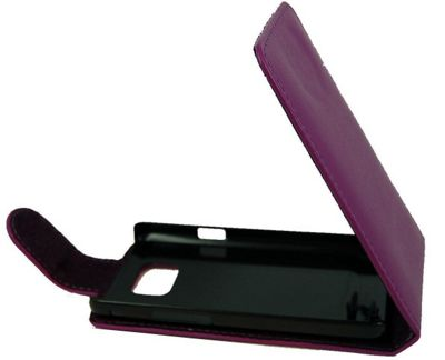 U-bop Neo-ORBIT Leather Case Purple - For Samsung Galaxy S3 S III GT-I9300