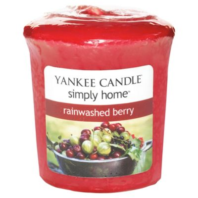 Yankee Candle Votive Rainwash Berry