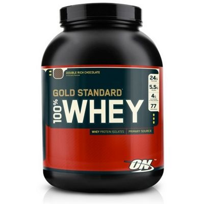 Optimum Nutrition 100% Whey Protein 2.27kg - Double Chocolate