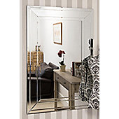Large Venetian Modern Big Bevelled Wall Mirror 2Ft7 X 3Ft11 80cm X 120cm