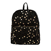 F&F Glitter Star Print Backpack