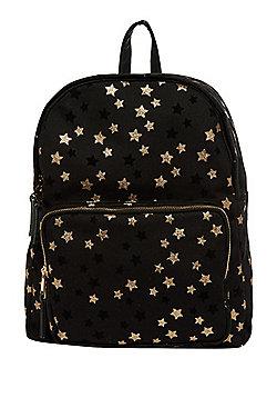F&F Glitter Star Print Backpack
