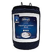 Silentnight Egyptian Cotton Single Duvet 10.5 Tog