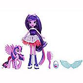 My Little Pony Equestrian s, Twilight Sparkle with Pony