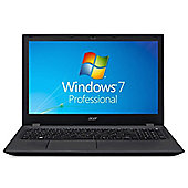 "Acer TravelMate P258 15.6"" Intel Core i5 Windows 7 Pro 4GB RAM 500GB Laptop Black"