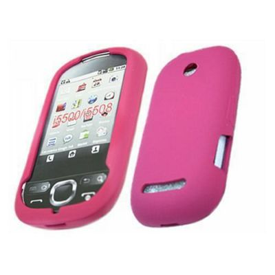 iTALKonline Silicone Case Pink For - Samsung i5500 Galaxy Europa